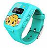 Детские умные часы Wherecom KidFit Watch с GPS-трекером  Голубые