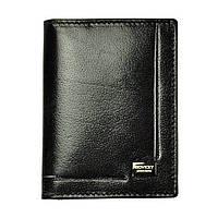 Обкладинка на документи шкіряна чорна (для ID паспорта, прав, техпаспорта) Rovicky CPR-039 BAR