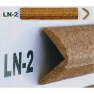 Профіль кутовий корковий, зовн. LN2 3см*3см