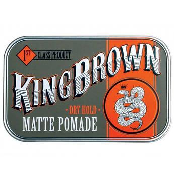Помада King Brown Matte Pomade 75г