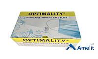 Маски медичні тришарові (Optimality), 50 шт./упак.