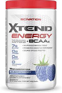 Амінокислоти+енергія BCAA Scivation Xtend Energy BCAAs 30 порц. (уцінка)
