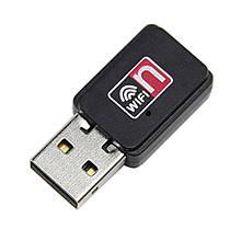 USB Wi-Fi сетевой адаптер  Wi Fi 802.11n + диск (без антенны) Сетевые адаптеры в Украине