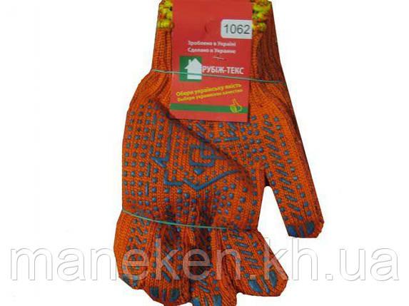 Господарські рукавички щільні помаранчева (10кл/3н) (10 пар), фото 2