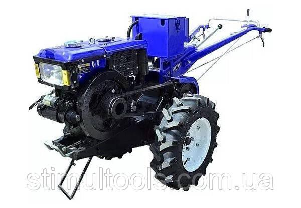 Мотоблок дизельный Forte МД-121EGT, без плуга (синий)