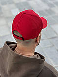 Бейсболка мужская красная реплика, фото 2