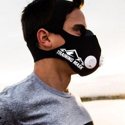 Тренувальна Силова Маска дихальна для бігу і тренувань Elevation Training Mask 2.0 розмір L
