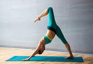 АКЦИЯ. Коврик 7 мм для йоги и фитнеса, аэробики, цвета в наличии. +Подарок, фото 3