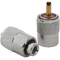 Штекер UHF под кабель RG-59 накрутка