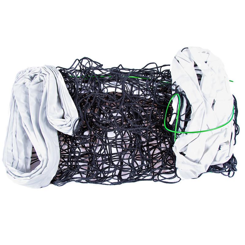 Волейбольная сетка с тросом, трос D=3,8 mm, ячейка 14*14 cm + сумка