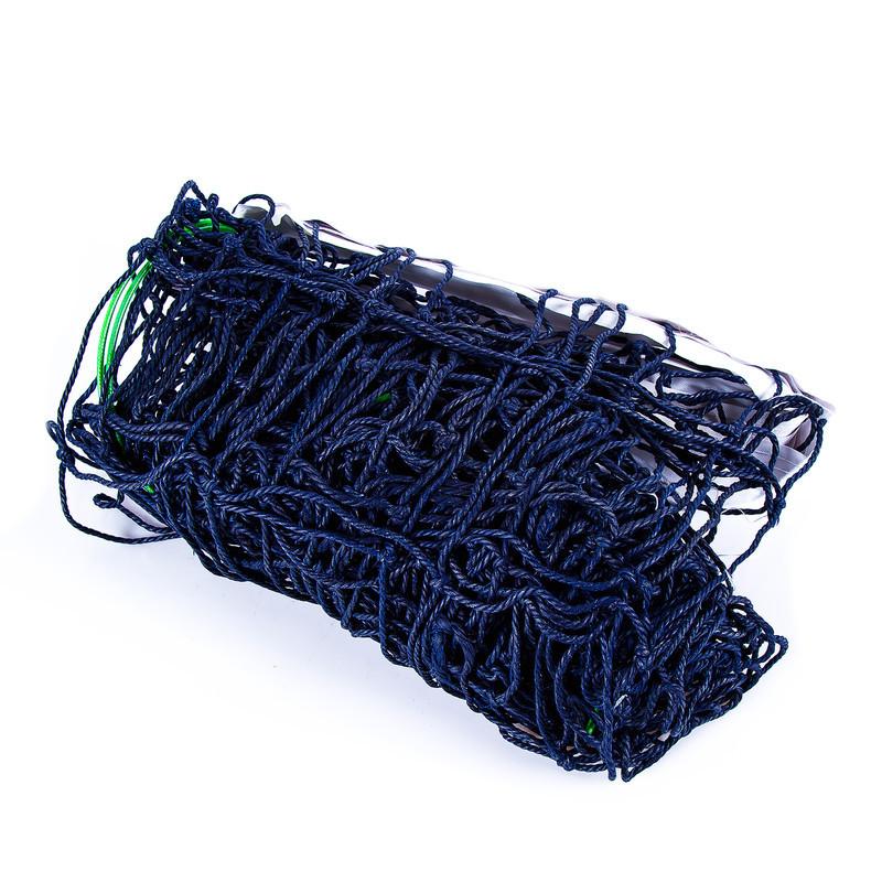 Волейбольна сітка з тросом, трос D=3,8 mm, осередок 14*14 cm + сумка
