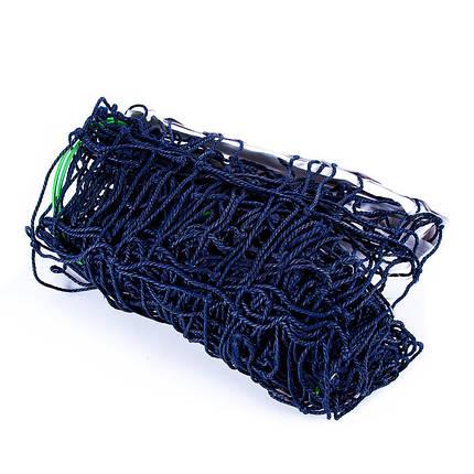 Волейбольная сетка с тросом, трос D=3,8 mm, ячейка 14*14 cm + сумка, фото 2