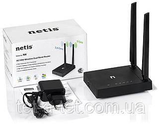 Wi-Fi роутер NETIS SYSTEMS N4 (2.4 / 5 ГГц)