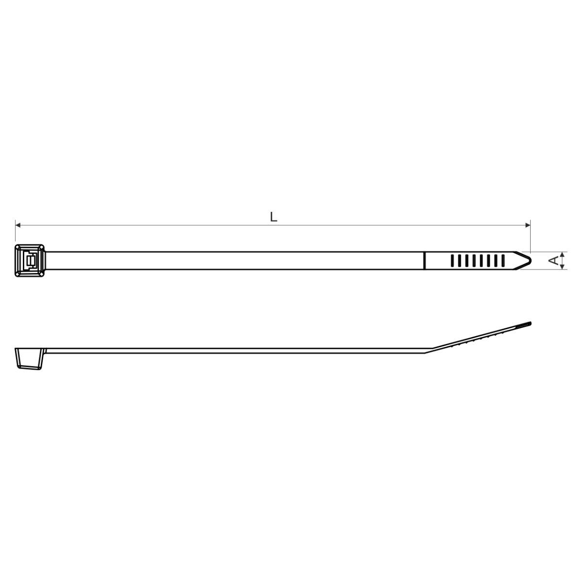 SP 430x4.5 стрічка стяжна