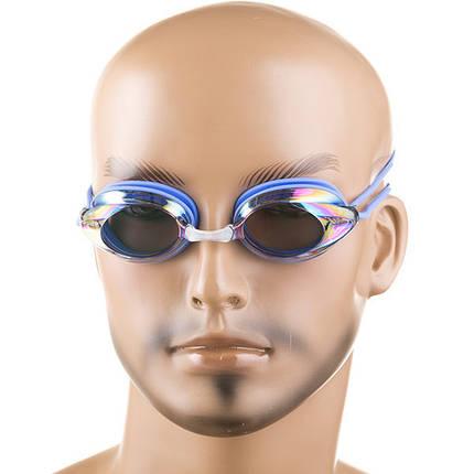 Очки детские для плавания Speedo Legend, цвета синий, черный, розовый, бежевый, фото 2