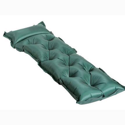 Килимок туристичний надувний, надувний килимок, 1 камери, 181х60х2.5 см, фото 2