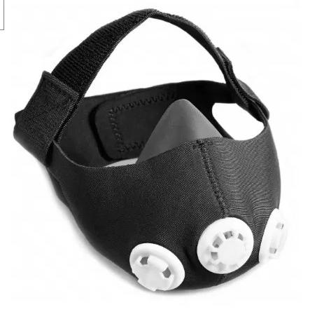 Дихальний девайс для силових тренувань і бігу, в чохлі з карабіном