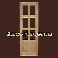 Двері из масиву дерева 70см (під скло) s_05705