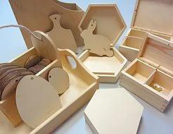 Заготовки дерев'яні для творчості
