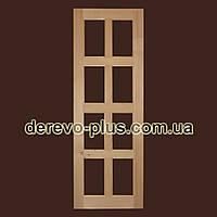 Двері з масиву дерева 70см (під скло) s_05706