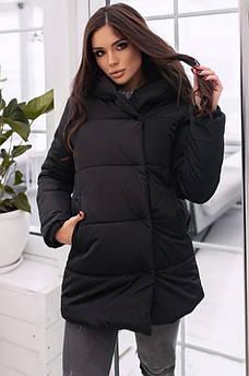 Куртка женская черная 50 р. AAA 130152S