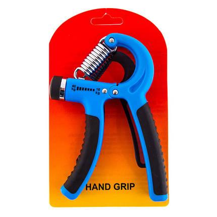 Эспандер кистевой пружинный, нагрузка 10-40кг, фото 2
