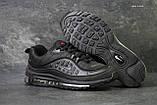 Кроссовки мужские демисезонные Nike Air Max 98 x Supreme черные, фото 2