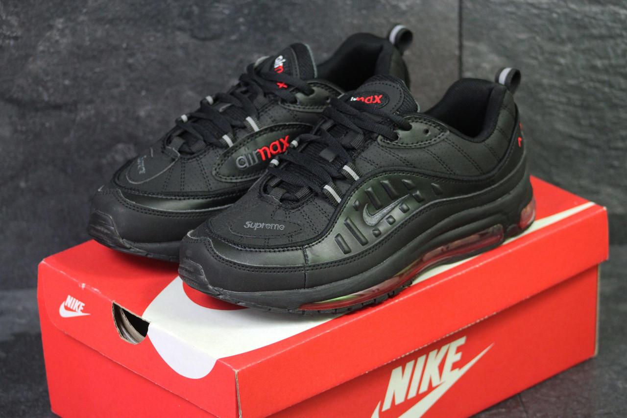 Кроссовки мужские демисезонные Nike Air Max 98 x Supreme