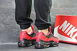 Мужские кроссовки демисезонные Nike 95, черные с красным, фото 4