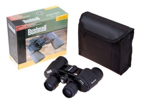 Бінокль Bushnell 8*40 чорний. Розпродаж!, фото 2