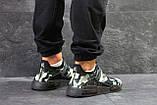 Мужские кроссовки Adidas NMD Human RACE, летние кроссовки Адидас милитари, фото 2