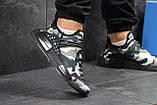 Мужские кроссовки Adidas NMD Human RACE, летние кроссовки Адидас милитари, фото 3