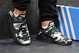 Мужские кроссовки Adidas NMD Human RACE, летние кроссовки Адидас милитари, фото 4
