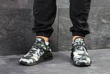 Мужские кроссовки Adidas NMD Human RACE, летние кроссовки Адидас милитари, фото 6