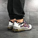 Кроссовки демисезонные мужские Nike (реплика) белые с фиолетовым, фото 5