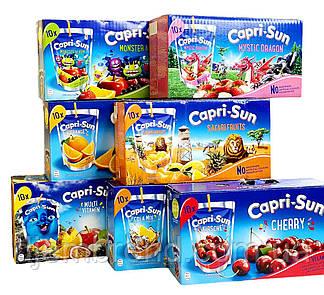 Соки ОПТОМ Capri-Sun 200 мл 10 шт в коробке. Германия. Сік Capri-sun. Оптовый склад!