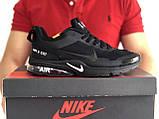 Чоловічі кросівки Nike Air Presto CR7 Black сітка, чорні кросівки в стилі Найк Аїр Престо, фото 5