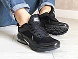 Чоловічі кросівки Nike Air Presto CR7 Black сітка, чорні кросівки в стилі Найк Аїр Престо, фото 6