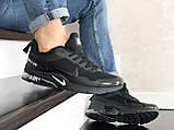 Чоловічі кросівки Nike Air Presto CR7 Black сітка, чорні кросівки в стилі Найк Аїр Престо, фото 7