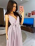 Платье в пол нарядное люрекс KT594, фото 7