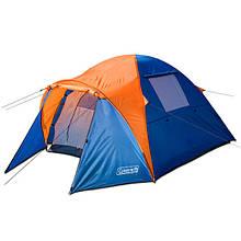 Палатка туристическая трехместная Coleman 1011.