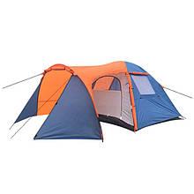 Палатка туристическая четырехместная Coleman 1036.