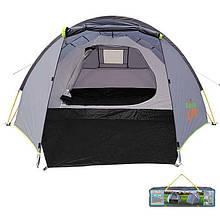 Палатка туристическая четырехместная GreenCamp 900, автомат.