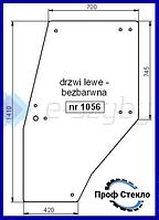 Стекло Deutz-Fahr AgroPrima 4.31 4.51 4.56 6.06 6.16 левая дверь