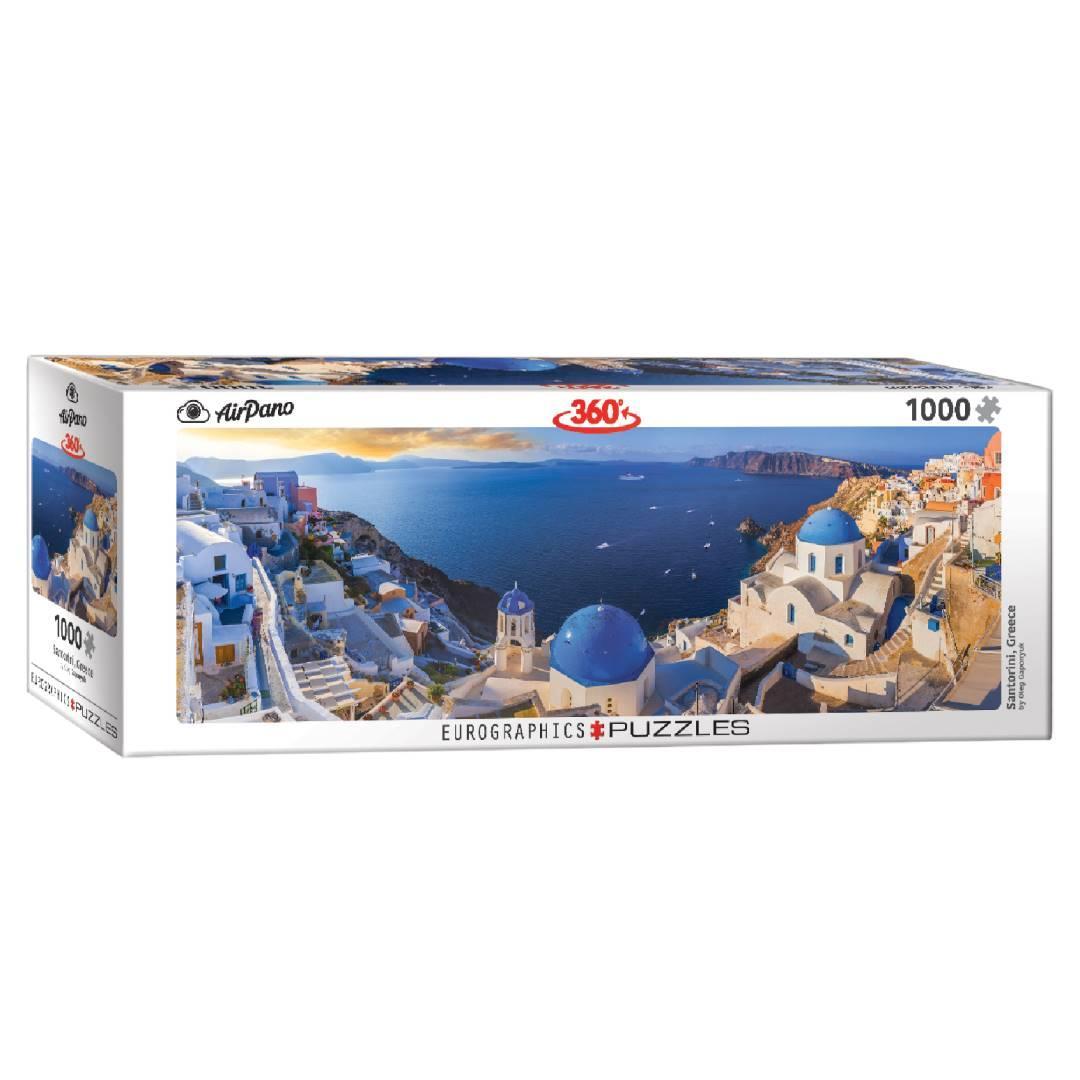Пазл Eurographics Санторіні, Греція, 1000 елементів панорамний