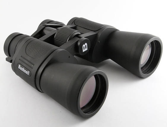 Бінокль Bushnel 10-50*50 Zoom чорний А-4. Розпродаж!, фото 2
