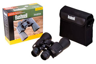 Бінокль Bushnel 10-50*50 Zoom чорний А-4. Розпродаж!, фото 3