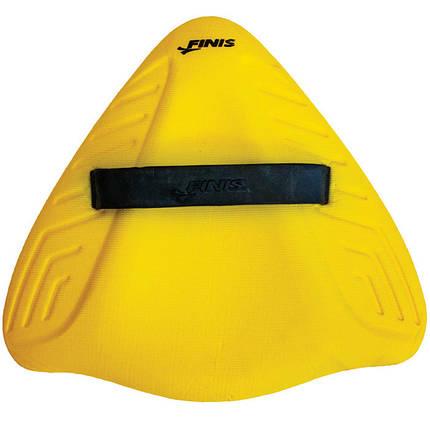 Дошка для плавання Alignment Kickboard Yellow, Finis, фото 2
