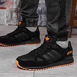 Кроссовки мужские 18163, Adidas ZX 750, черные, [ 43 44 45 46 ] р. 41-26,5см., фото 2