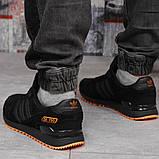 Кроссовки мужские 18163, Adidas ZX 750, черные, [ 43 44 45 46 ] р. 41-26,5см., фото 4
